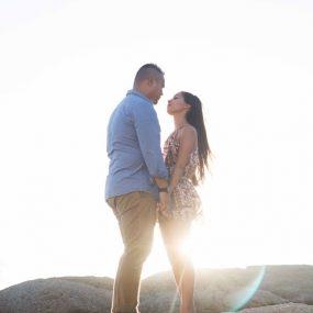 DK Photography CCD_2978-1-285x285 Kirstie & Alex's Fun Engagement Shoot on Llandudno Beach with Autumn Sunset  Cape Town Wedding photographer
