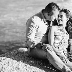 DK Photography CCD_3027-2-1-285x285 Kirstie & Alex's Fun Engagement Shoot on Llandudno Beach with Autumn Sunset  Cape Town Wedding photographer