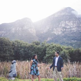 DK Photography CCD_7235-1-285x285 Maya & Sunil's E Session in Kirstenbosch Botanical Gardens & Lllandudno Beach { Detroit to Cape Town }  Cape Town Wedding photographer