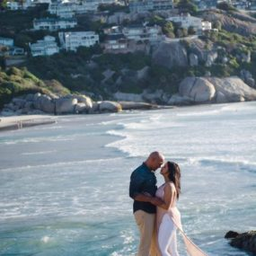 DK Photography dkp_8482-285x285 Beulah & Pierre's E Shoot on Llandudno Beach  Cape Town Wedding photographer